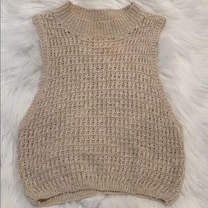 Billabong crochet crop top